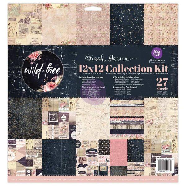 12x12 Collection Kit - Wild & Free