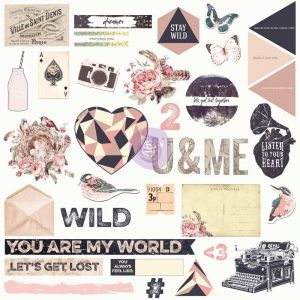 Chipboard & More - Wild & Free