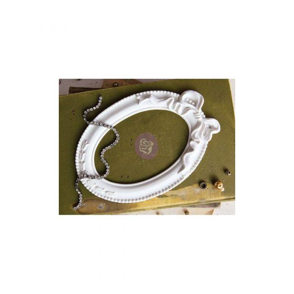 Memory Hardware Resin Frames- Papillon Blanc Oval