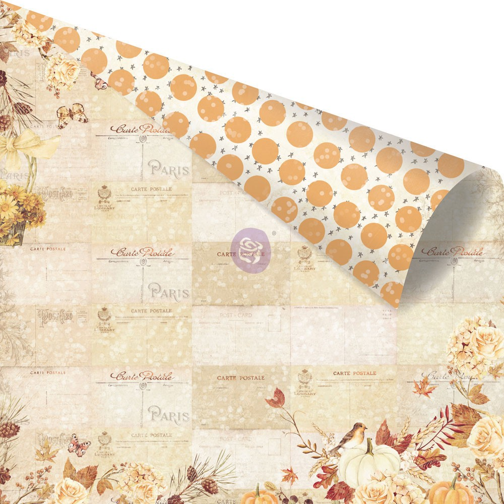 Amber Moon - 12X12 Paper