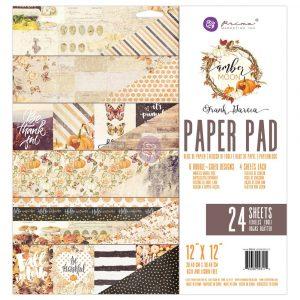 Amber Moon - 12X12 Paper Pad