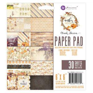 Amber Moon - 6X6 Paper Pad