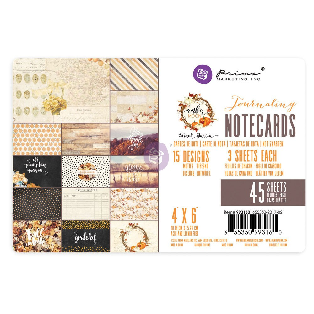 Amber Moon - 4X6 Paper Pad