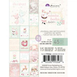 Santa Baby 3x4 Journaling Cards