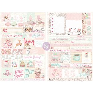 Santa Baby Word Quote Stickers