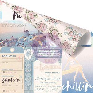 Santorini - 12x12 Sheet - Enjo