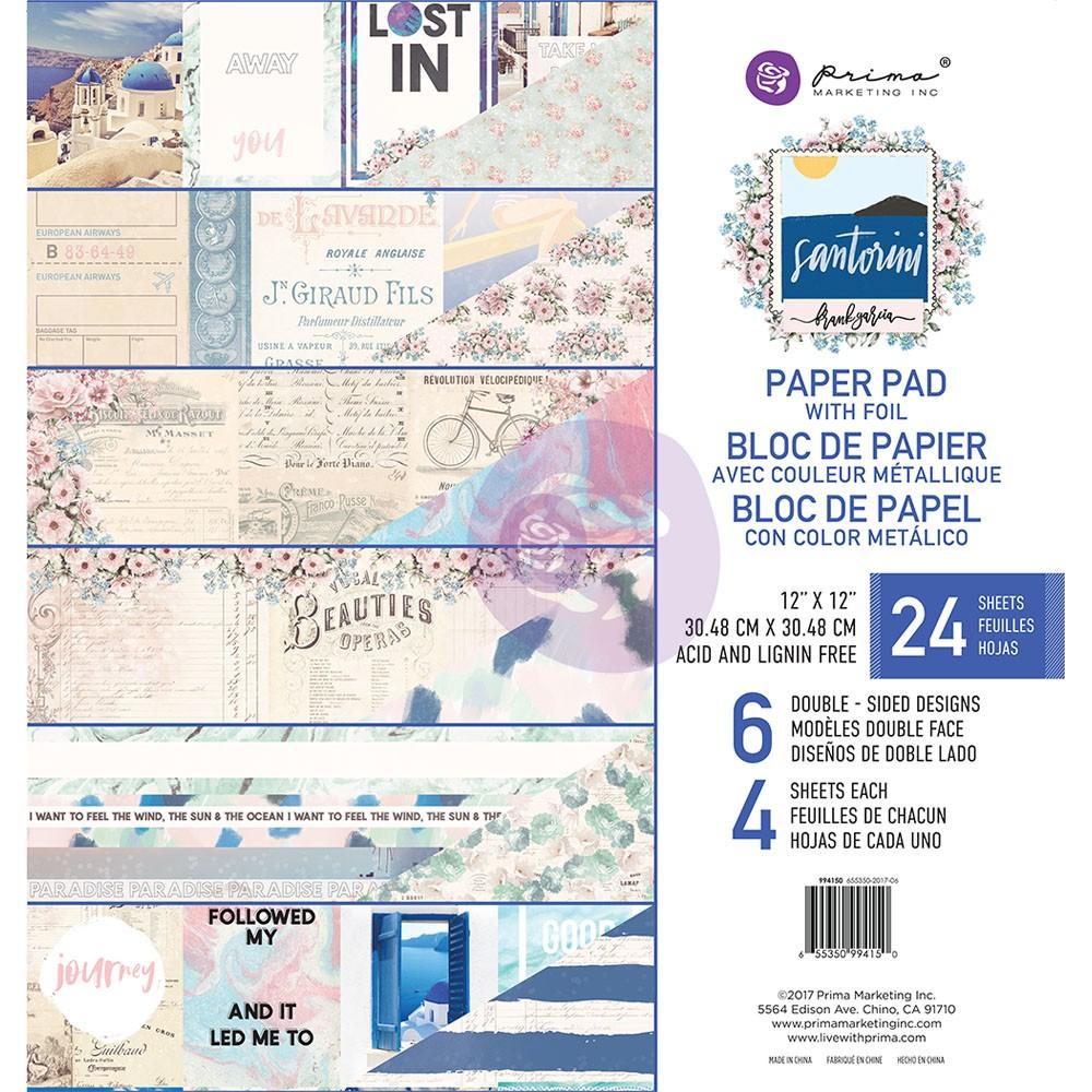 Santorini - 12x12 Paper Pad