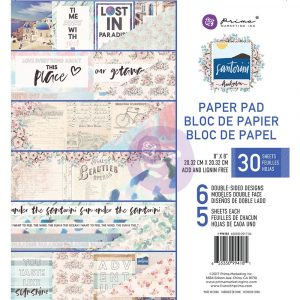 Santorini - 8x8 Paper Pad