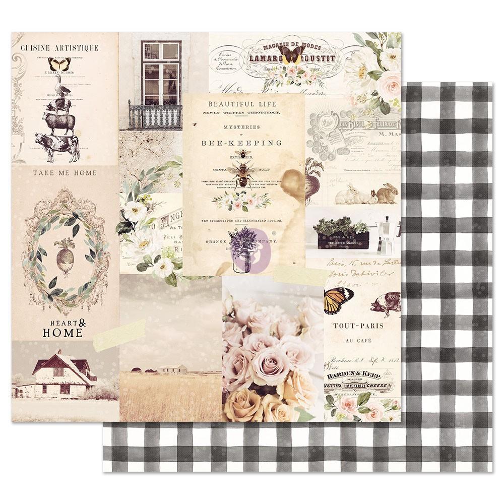 Spring Farmhouse 12x12 Sheet - Beautiful life