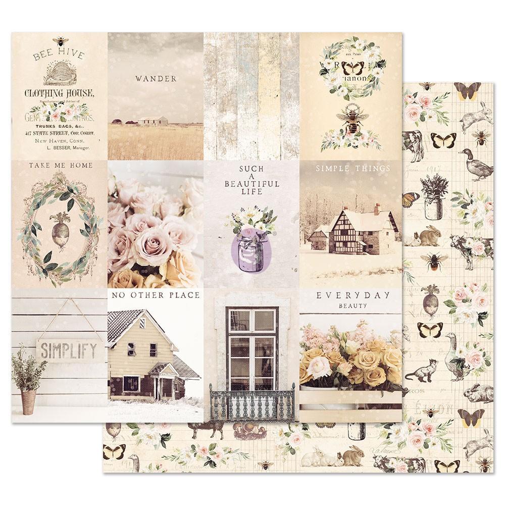 Spring Farmhouse 12x12 Sheet - Simple Things