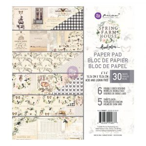 Spring Farmhouse 6x6 Paper Pad