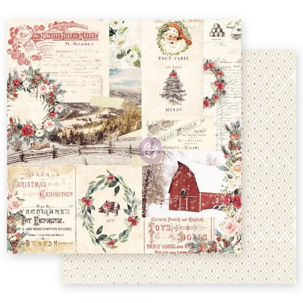 Christmas in the Country - 12x12 Sheet - Christmas Joy
