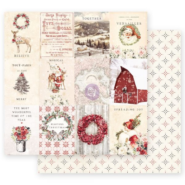 Christmas in the Country - 12x12 Sheet - Spreading Christmas Magic