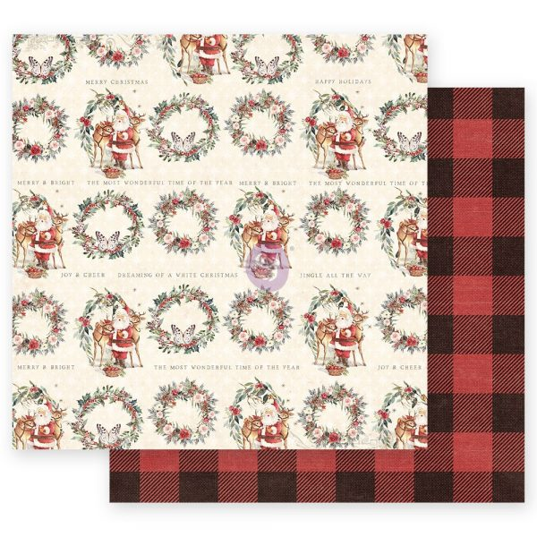 Christmas in the Country - 12x12 Sheet - Most Wonderful Time of the Year