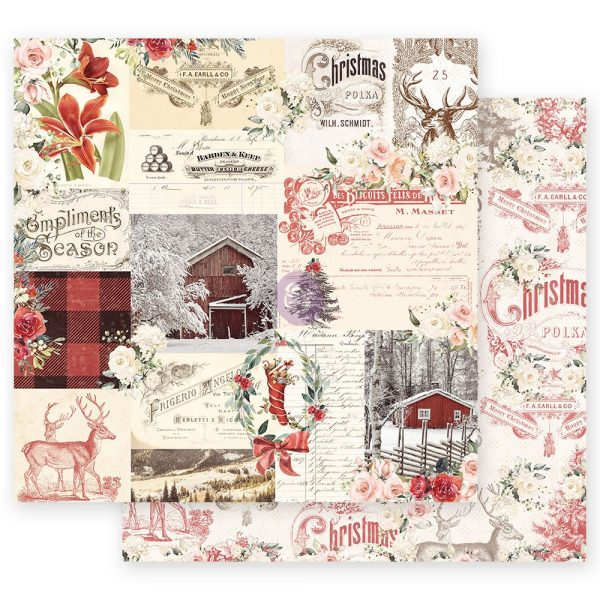 Christmas in the Country - 12x12 Sheet - Compliments of the Season