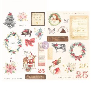 Christmas in the Country - CHIPBOARD -