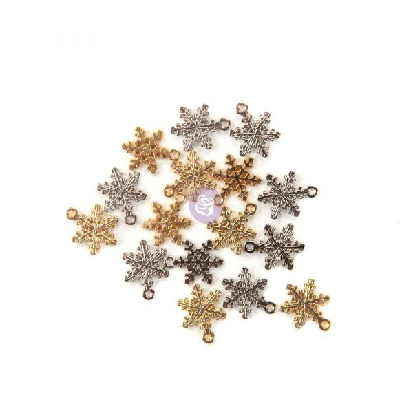 Christmas in the Country - Snowflake charms -