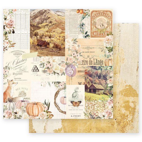 Autumn Sunset - 12x12 Sheet - Autumn Morning
