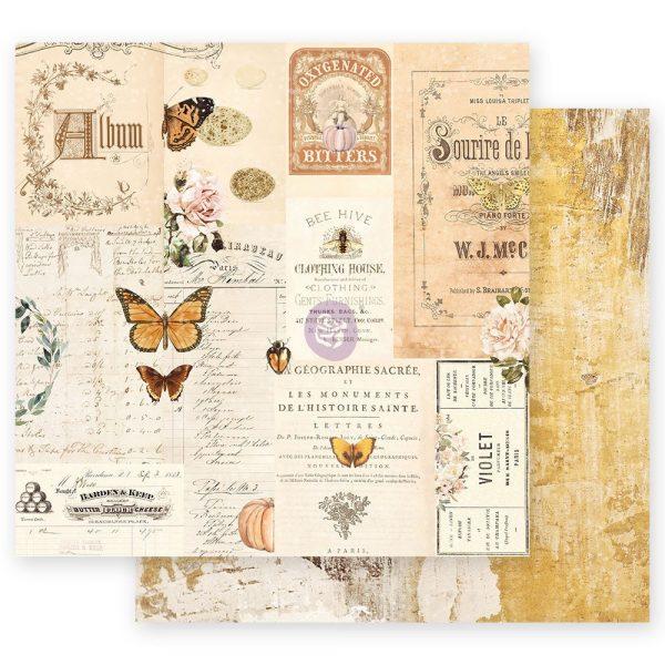 Autumn Sunset - 12x12 Sheet - Autumn Memories