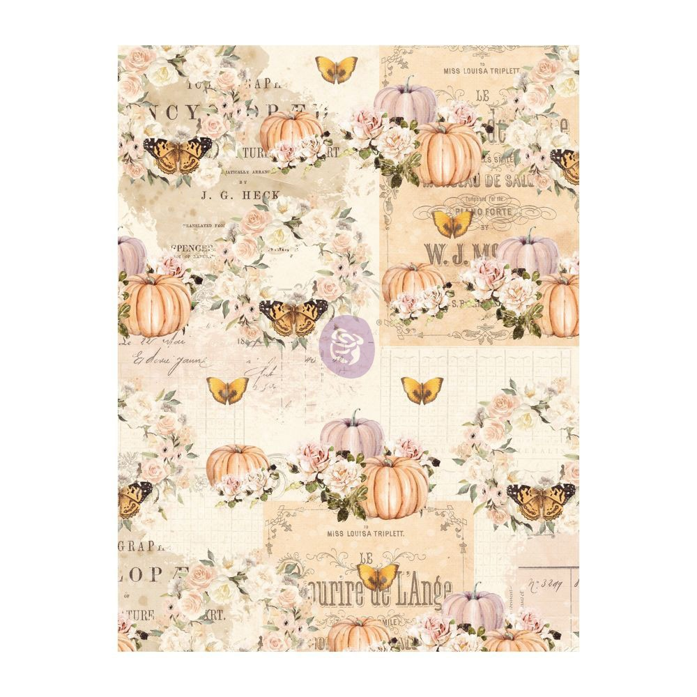 Autumn Sunset - 3X4 Journaling Cards -