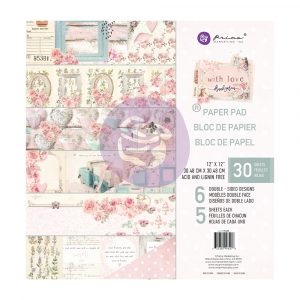 With Love Collection 12x12 Paper Pad - 24 sheets