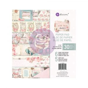 With Love Collection 8x8 Paper Pad - 30 sheets