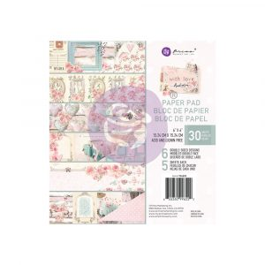 With Love Collection 6x6 Paper Pad - 30 sheets