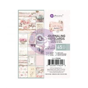 With Love Collection 3X4 Journaling Cards - 45 sheets