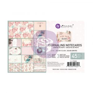With Love Collection 4X6 Journaling Cards - 45 sheets