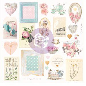 With Love Collection Ephemera - 27 pcs w/ foil details