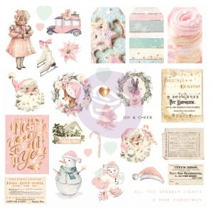 Sugar Cookie Christmas Collection Ephemera - 31 pcs, foil details