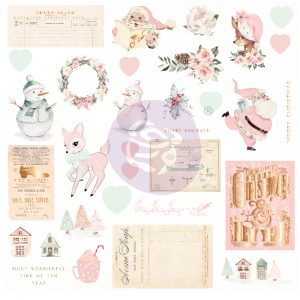 Sugar Cookie Christmas Collection Ephemera - 32 pcs, foil details