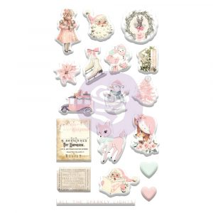 Sugar Cookie Christmas Collection Puffy Stickers - 18 pcs