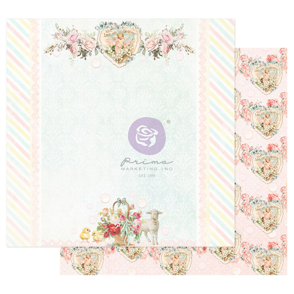 Magic Love Collection 12x12 Sheet - Loving You Always - 1 sheet w/ foil details