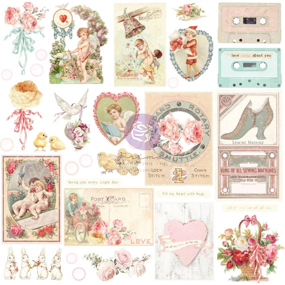 Magic Love Collection Ephemera - 33 pcs