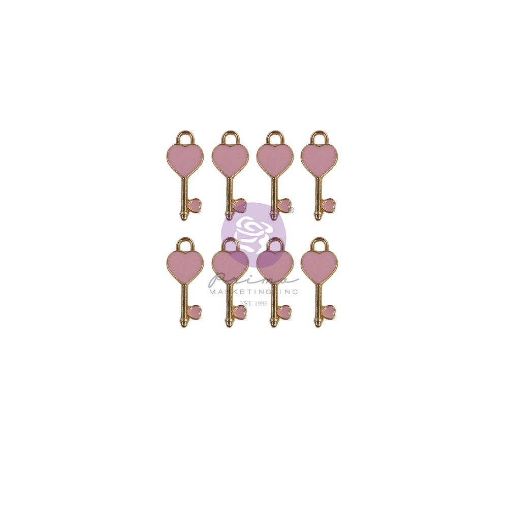 Magic Love Collection Heart Keys - 8 pcs