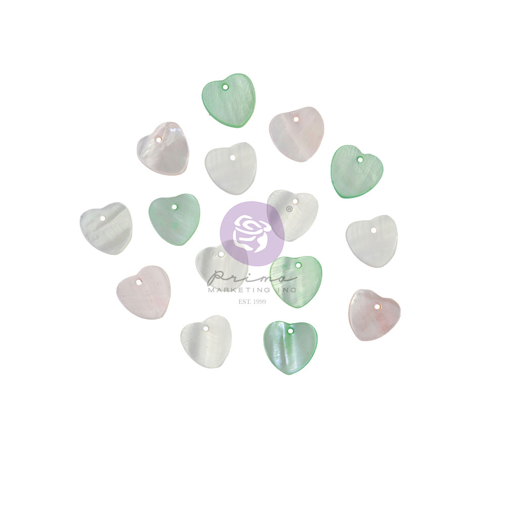 Magic Love Collection Pearl Hearts - 15 pcs