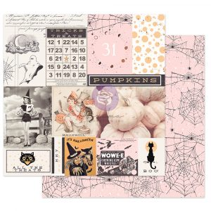 """Thirty-One Collection 12x12 Sheet - All the Treats - 1 sheet, 12""""x12"""" with foil detail"""