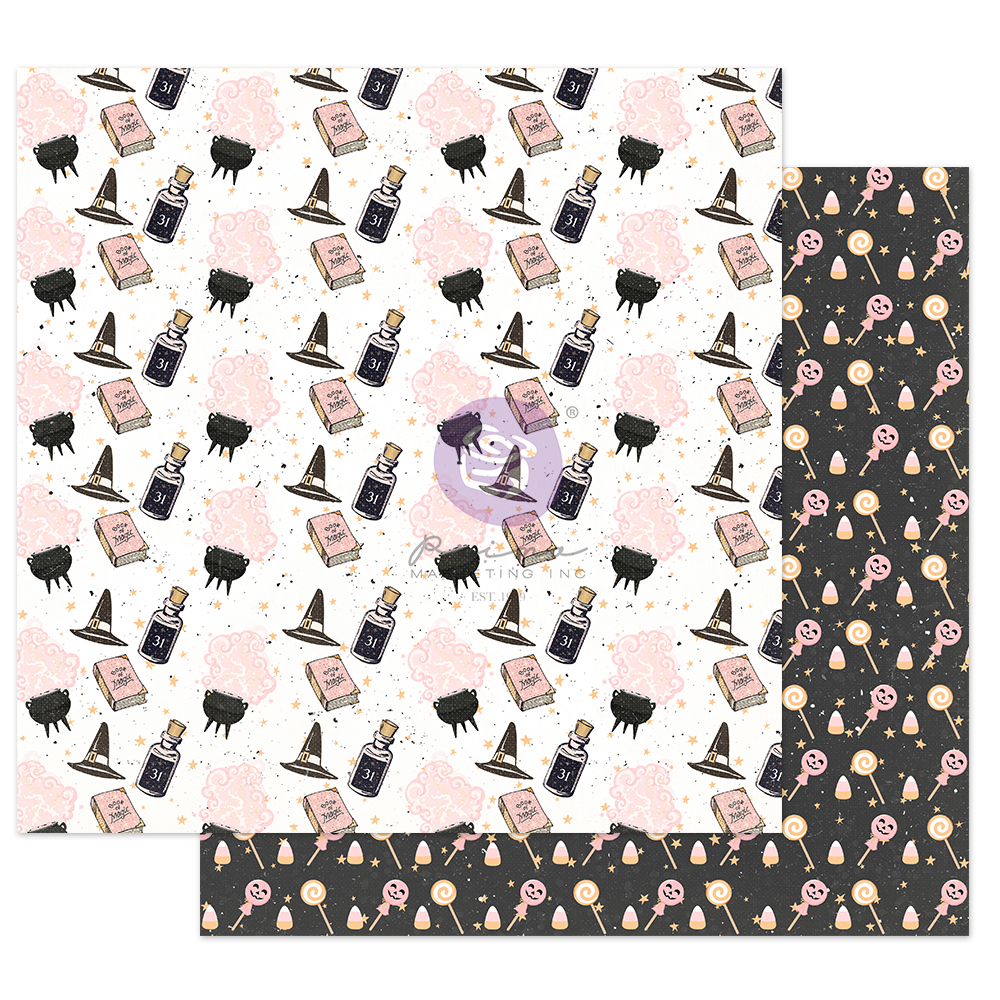 """Thirty-One Collection 12x12 Sheet - Magic & Potions - 1 sheet, 12""""x12"""" with foil detail"""