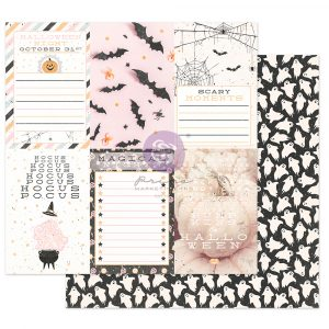 """Thirty-One Collection 12x12 Sheet - Hocus Pocus - 1 sheet, 12""""x12"""" with foil detail"""