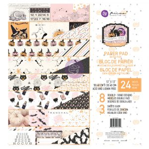 Thirty-One Collection 12x12 Paper Pad - 24 sheets w/ foil detail