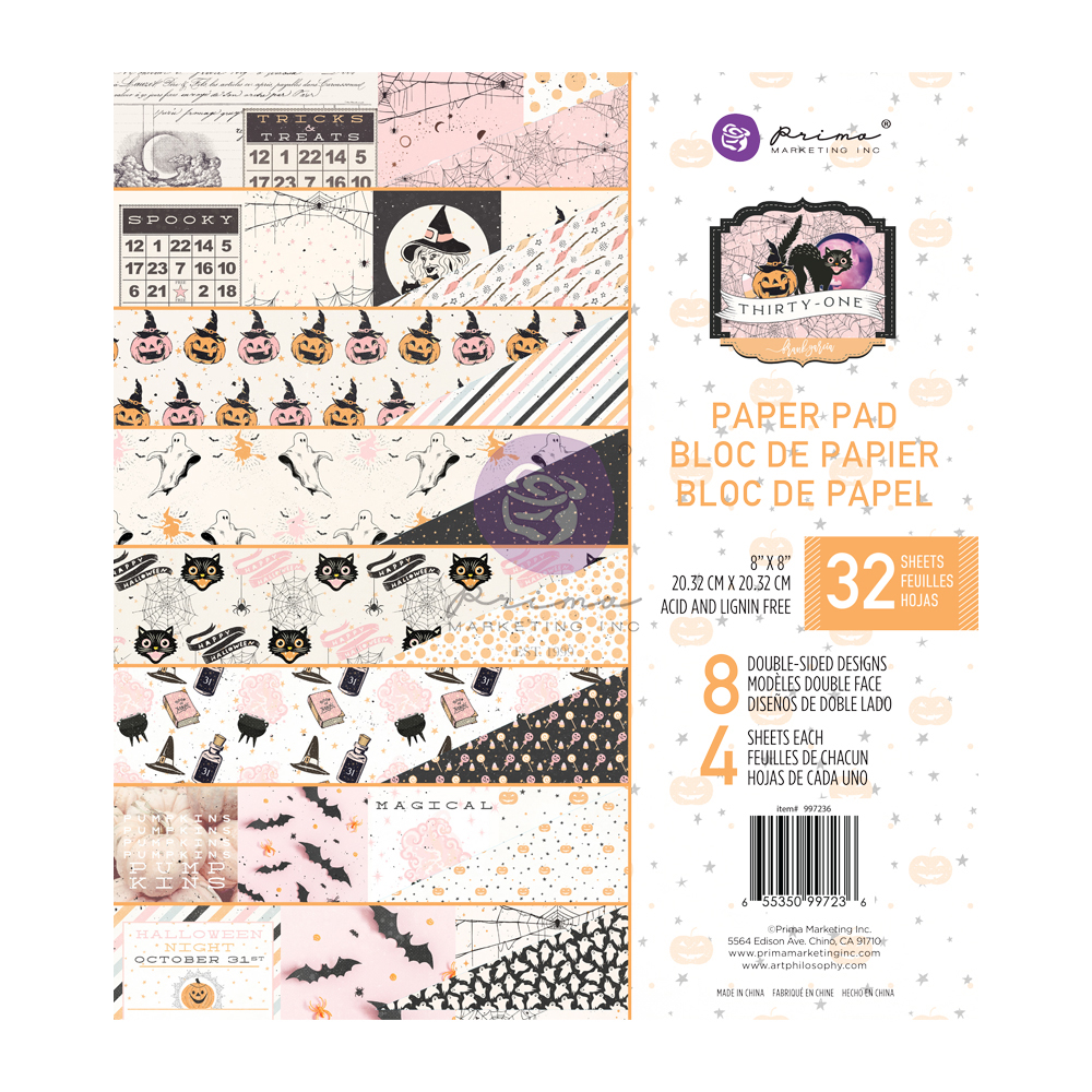 Thirty-One Collection 8x8 Paper Pad - 32 sheets