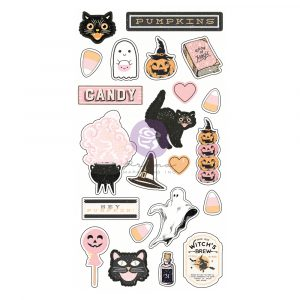Thirty-One Collection Puffy Stickers - 22 pcs