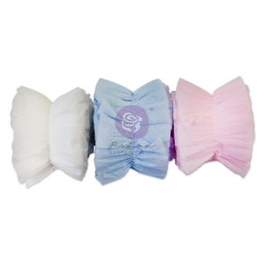 Christmas Sparkle Collection Ruffle Crepe Paper - 3 colors x 1 yd each