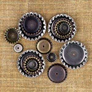 Mechanicals-Bottle Caps - 16 pcs