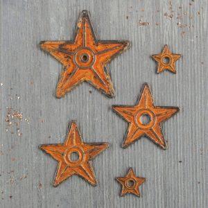 Mechanicals: Barn Stars - 5 pcs